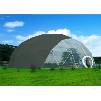 Buy cheap Anti - Rust  Geodesic Dome Tent Durable High Strength Q235 Steel Structure product