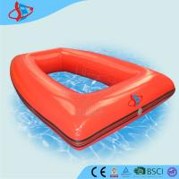 Buy cheap Children Square Inflatable Water Games Yellow For Swimming Pool product