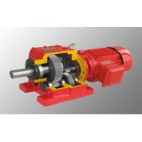 R Series helical gear hard tooth surface electric motor speed reducer