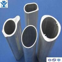 Buy cheap Customized aluminum extrusion oval tube in different size product