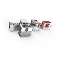Buy cheap Automatic Intelligent Jewelry Rigid Box Making Line Production speed: 35-45pcs/min product
