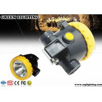 Buy cheap IP67 Explosion - Proof Rechargeable Miners Headlamp Cordless Type 0.74W Power product