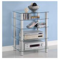 Quality Glass Component Media Stand Modern Television Stands For Home