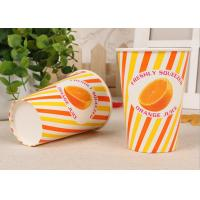 Buy cheap Custom Design Take Out Cold Paper Cups For Beverage , Eco Friendly product