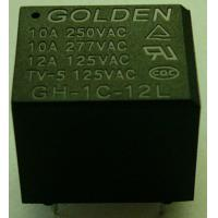 Buy cheap 12A 12 Volt / 24 Volt General Purpose Relay Plastic Sealed GH JQC-3FF product