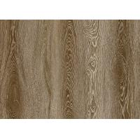 China Wooden ink transfering PVC decorative film for flooring decoration on sale