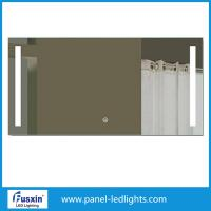 Illuminated Square Led Bathroom Wall Mirror 600mm*800mm For Beauty Salon
