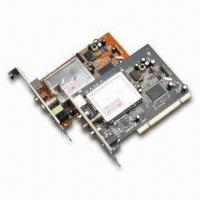Buy cheap Analog PCI TV Tuner Card with Full Screen Display and 720 x 576 Pixels Maximum Resolution product