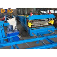 Buy cheap IBR And Corrugated Double Layer Roof Roll Forming Machine with Colored And Galvanized Steel Sheet product