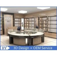Buy cheap Round Glasses Jewellery Shop Counter Design Manufacturers product
