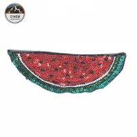 Buy cheap Various Design Watermelon Iron On Patch Sequin 20.5 * 11CM Size Custom Color product
