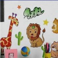 Buy cheap Animal Set, Made of EVA, PVC and Art Paper, Available in Various Colors product