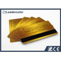 Buy cheap Management System RFID Chip Card With Magnetic Strip Standard Size product