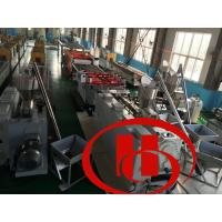 Buy cheap Solid Type WPC Pr Ofile Machine Wood Plastic Composite Extrusion Machine product