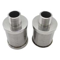 Buy cheap Typical SS Wedge Wire Filter nozzles For Sugar Industry product
