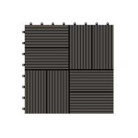 Durable wpc composite decking tiles for swimming pool  310*310*25mm (RMD-D8)