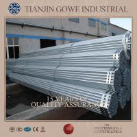 Buy cheap Swivel coupler scaffolding galvanised steel tube HDG 1.8mm - 4.0mm Thickness product