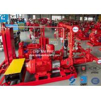 Buy cheap UL / NFPA20 500GPM Skid Mounted Fire Pump With Centrifugal End Suction Fire Pump Sets product
