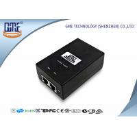Buy cheap Desktop Power Over Ethernet Adaptor 15V 0.8A Carrier POE Adapter product