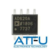 Buy cheap Low Power Amplifier IC Chip Small Footprint Design AD620ARZ-REEL7 With External Resistor product
