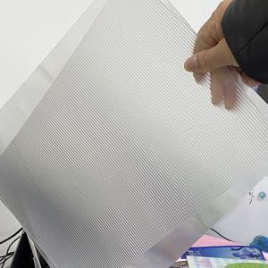 Buy cheap PET 200LPI/ 75/100/161 Lpi lenticular lens sheet 3D Film Lenticular Lens Sheet for injekt print and uv print product