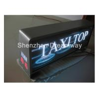 Waterproof P5 SMD3528 Taxi LED Display 3G 4G GPS WIFI Control For animation graphics text