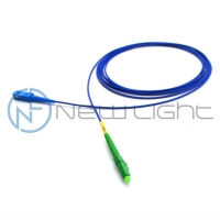China LC APC Armoured 8 Degree Optical Fiber Patch Cord Sc Lc on sale