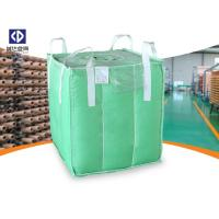 China Polypropylene FIBC Bulk Bags / Baffle Bag With Inner Bag Color Customized on sale