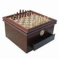 Buy cheap Wooden Chess, Measures 42 x 42 x 25cm, Weighs 7kg product