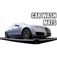 Blue Inflatable Car Wash Mat With Water Reclamattion Systems