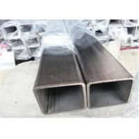 Buy cheap ASTM Stainless Steel Square Pipe , Ss 304 Square Tube A554 201 304 316L Polished Surface product