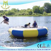 Buy cheap Hansel popular inflatable bounce house waterslide rental business product