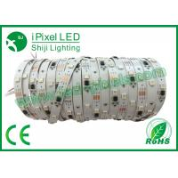 Buy cheap Connecting Coloured Flexible LED Strip / Individually Addressable RGB LED Strip product