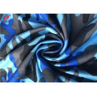 Buy cheap 4 Way Stretch Weft Knitted Fabric Polyester Lycra Spandex Fabric For Swimming Trunks product