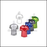 Buy cheap Hot Sale Eco Portable promotional fold T shirt Shape water bottle cup drinkware gift product