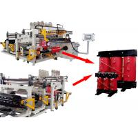 Buy cheap Programmable Dry Transformer Foil Winding Machine With TIG Welding Touch Screen product
