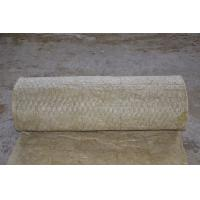 Buy cheap Fireproof Rockwool Insulation Blanket With Wire Mesh Custom product