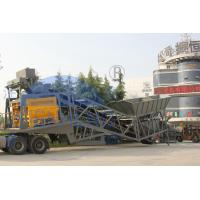 Buy cheap Cement Sand YHZS100 10m3×2 Mobile Mixing Plant product