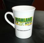 Buy cheap International certification SGS/CE 8109 ceramic mug custom LOGO coffee mark cup bone china mug sublimation white mug product