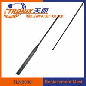 Buy cheap 1 section mast car antenna/ car replacement mast antenna/ car antenna accessories TLN0030 product