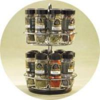 China 16bottles Rotatable Spice Rack on sale