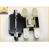 Buy cheap German Metal Invisible Door Hinges Thickness 60mm Load 100 Kg Per Pair product