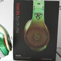 Buy cheap Green with logo, best stereo headphone 2012 product