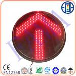 Buy cheap 400mm Red Arrow Traffic Light Module product