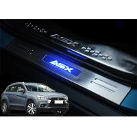 Buy cheap Mitsubishi ASX 2013 2017 Steel Side Door Sill Scuff Plates with LED Light product