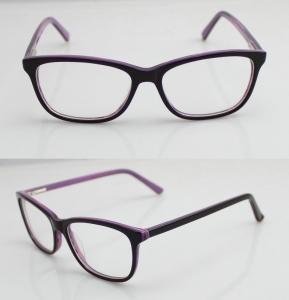 Buy cheap Lightweight Custom Made Eyeglass Frames , Mens / Womens Acetate Optical Frames product