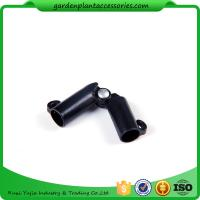 Buy cheap Sturdy Plastic Garden Stake Connectors Black Color Adjustable Angle 0 - 170 Degrees product