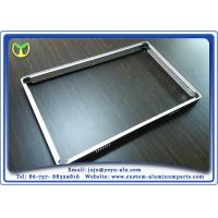 Buy cheap 6063A T5 Extruded Steel Profiles / Modular Aluminium Extrusions For Equipment Aluminum Frame from Wholesalers