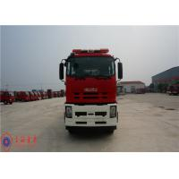 Buy cheap 6x4 Drive Foam Rescue Fire Truck 257KW Power With Double Row Structure Cab product