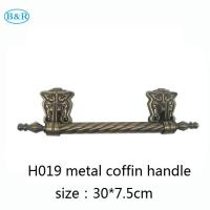 Buy cheap Zamak coffin and casket accessories metal casket handles factory from wholesalers